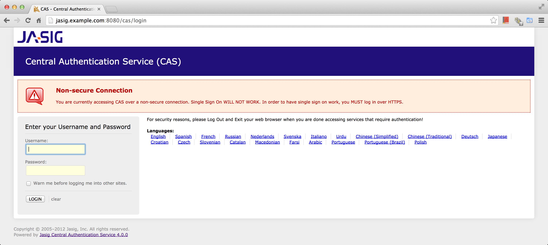 Integrating Apache Shiro with CAS Authentication via LDAP ·